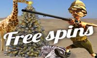 Safari Sam freespins